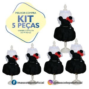 KIT 5 PEÇAS - Ref 524 - Vestido Mila