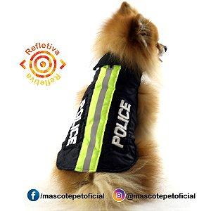 KIT 5 PEÇAS - Ref 480 - Capa Police Refletiva