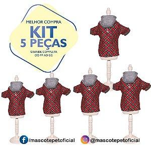 KIT 5 PEÇAS Ref 548 - Casaco Conrado