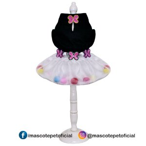 Ref.816 Vestido Borboleta
