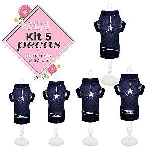 KIT 5 PEÇAS Ref.818 Camisa Rogers