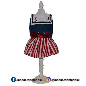 Ref: 218 Vestido Marinheira