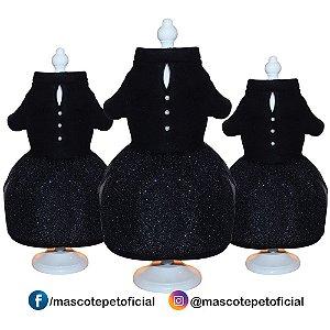 Roupa Kit 3 peças - Ref. 850 Vestido Soft Preto