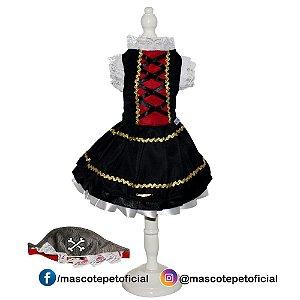 Ref 376 - Vestido Esmeralda