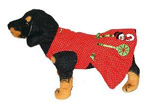 Ref. 382 - Vestido Natal Poá