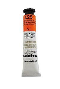 Tinta Oleo Corfix 20ml 125 Amarelo Cadmio Alaranjado