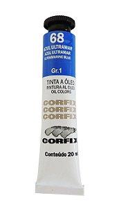 Tinta Oleo Corfix 20ml 68 Azul Ultramar