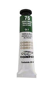 Tinta Oleo Corfix 20ml 75 Verde Inglês
