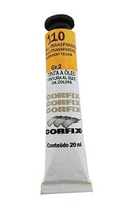 Tinta Oleo Corfix 20ml 110 Amarelo Transparente Claro Grupo 2