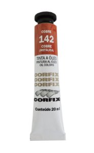 Tinta Oleo Corfix 20ml 142 Cobre Metálico