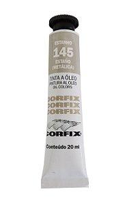 Tinta Oleo Corfix 20ml 145 Estanho Metálico