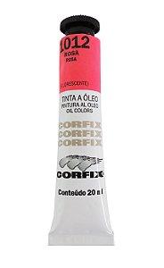 Tinta Oleo Corfix 20ml 1012 Rosa Fluorescente
