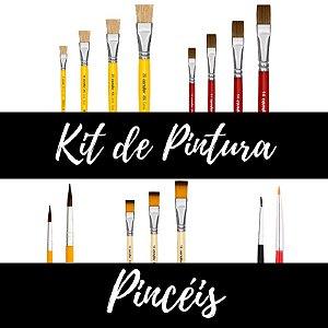 Kit de Pintura - Pincéis