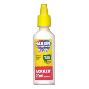 Tinta Nankin Acrilex 20 ml - 519 Branco