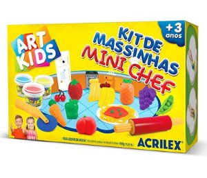 Kit de Massinhas - Mini Chef