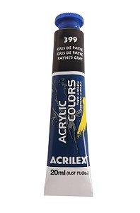 Tinta Acrilica Acrilex 20ml 399 - Gris de Payne