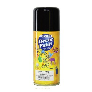 Decor Paint Spray 520 Preto - 150ml