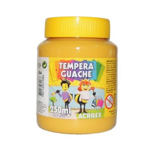 Tinta Tempera Guache 250 ml 564 - Amarelo Ocre