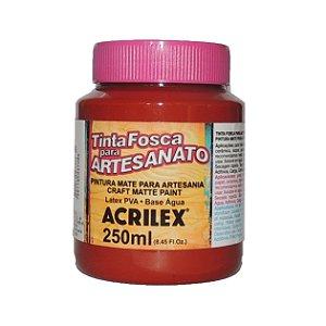 Tinta Fosca para Artesanato Acrilex 250ML - 506 Cerâmica