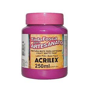 Tinta Fosca para Artesanato Acrilex 250ML - 549 Magenta