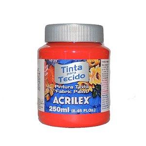 Tinta Para Tecido Acrilex 250ML - 507 Vermelho Fogo