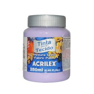 Tinta Para Tecido Acrilex 250ML - 528 Lilas