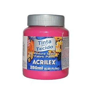 Tinta Para Tecido Acrilex 250ML - 542 Rosa Escuro