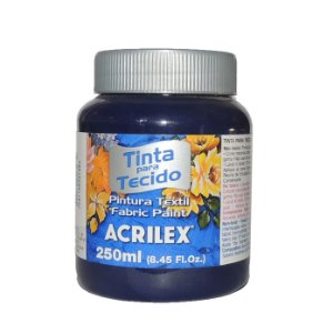 Tinta Para Tecido Acrilex 250ML - 544 Azul Marinho