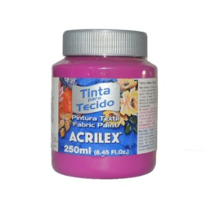 Tinta Para Tecido Acrilex 250ML - 549 Magenta