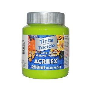 Tinta Para Tecido Acrilex 250ML - 802 Verde Maça