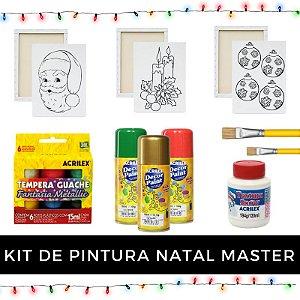 Kit de Pintura - Natal Master