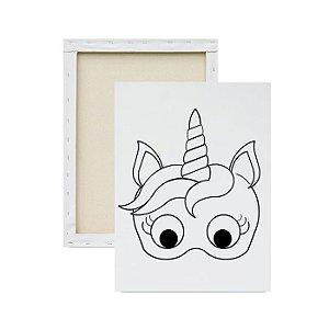 Tela para pintura infantil - Unicórnio