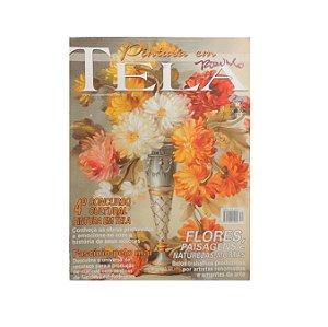 Revista - Pintura em Tela de Flores, Paisagens e Naturezas-mortas