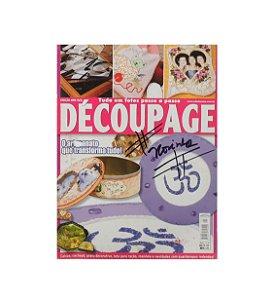 Revista - Découpage, coleção Arte Fácil