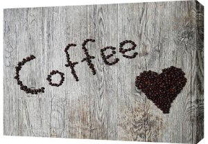 Quadro Decorativo Frases Coffee