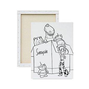 Tela Para Pintura Infantil - Jessie e seus Amigos
