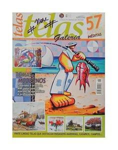 Revista - Telas Galeria, 57 obras inéditas