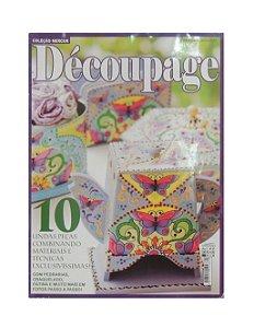 Revista - Coleção Mercur Découpage