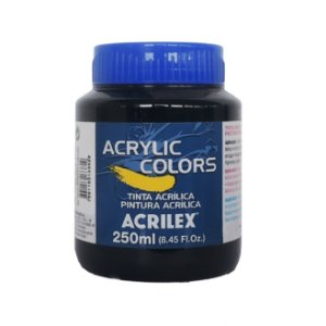 Tinta Acrilica Acrilex 250ml Grupo 1 332 - Verde Permanente Escuro