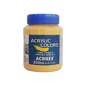 Tinta Acrilica Acrilex 250ml Grupo 1 - 342 Amarelo Napoles