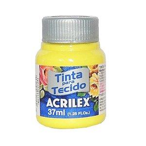 Tinta para Tecido Acrilex 37ml 504 - Amarelo Limão