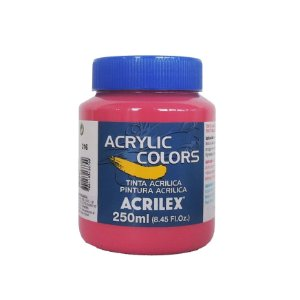 Tinta Acrilica Acrilex 250ml Grupo 1 316 - Rosa Escuro