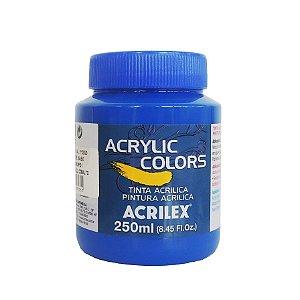 Tinta Acrilica Acrilex 250ml Grupo 1 308 - Azul Cobalto