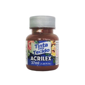 Tinta para Tecido Acrilex 37ml 531 Marrom