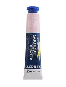 Tinta Acrilica Acrilex 20ml 335 - Laca Orquidea