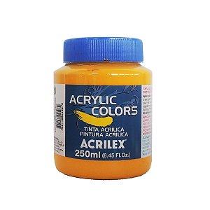 Tinta Acrilica Acrilex 250ml Grupo 2-302 Amarelo Escuro