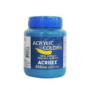 Tinta Acrilica Acrilex 250ml Grupo 2 347 - Azul Cerulio