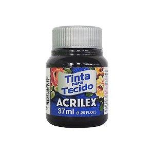 Tinta para Tecido Acrilex 37ml 520 Preto