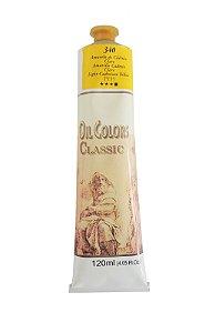 Tinta Oleo Acrilex 120 ml 340 - Amarelo de Cadmio Claro