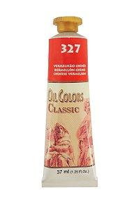 Tinta Oleo Acrilex 37 ml 327 - Vermelho Chinês